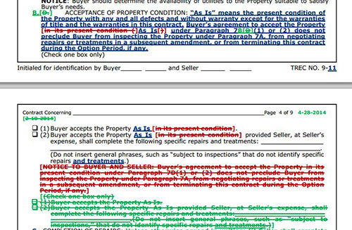 Unimproved Property Contract Trec 9-11 | Bull Forms Texas
