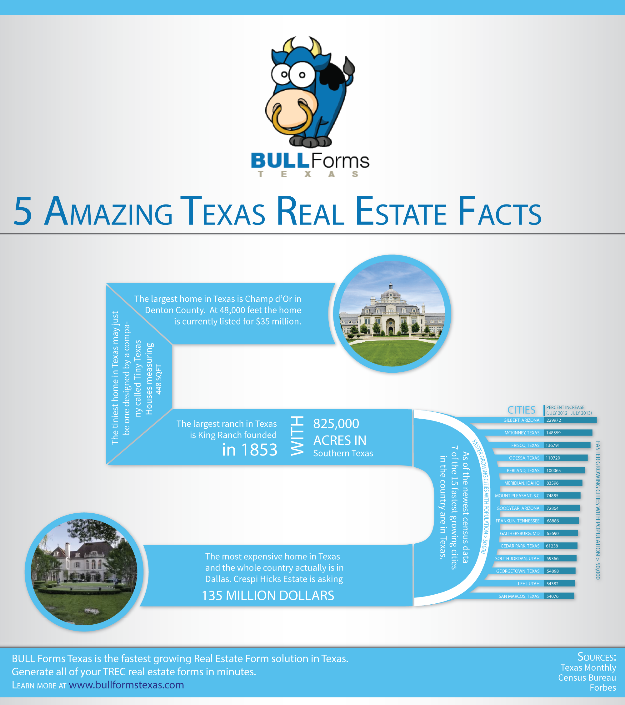 Bull forms bull forms texas five amazing texas real estate facts 1betcityfo Gallery